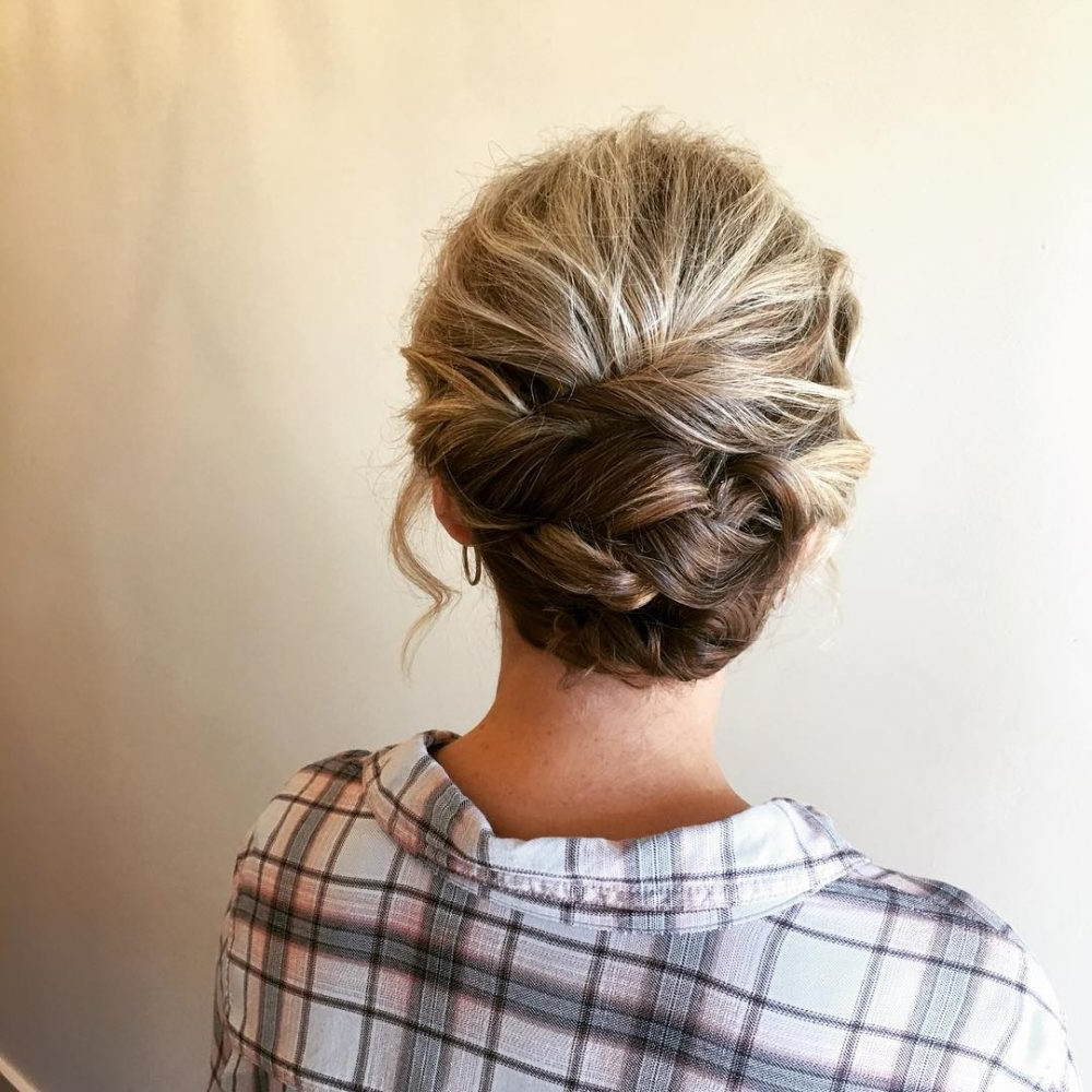 24 Cutest Updos For Short Hair Of 2018 | Latest Hairstyles Within Short Formal Hairstyles (View 4 of 20)