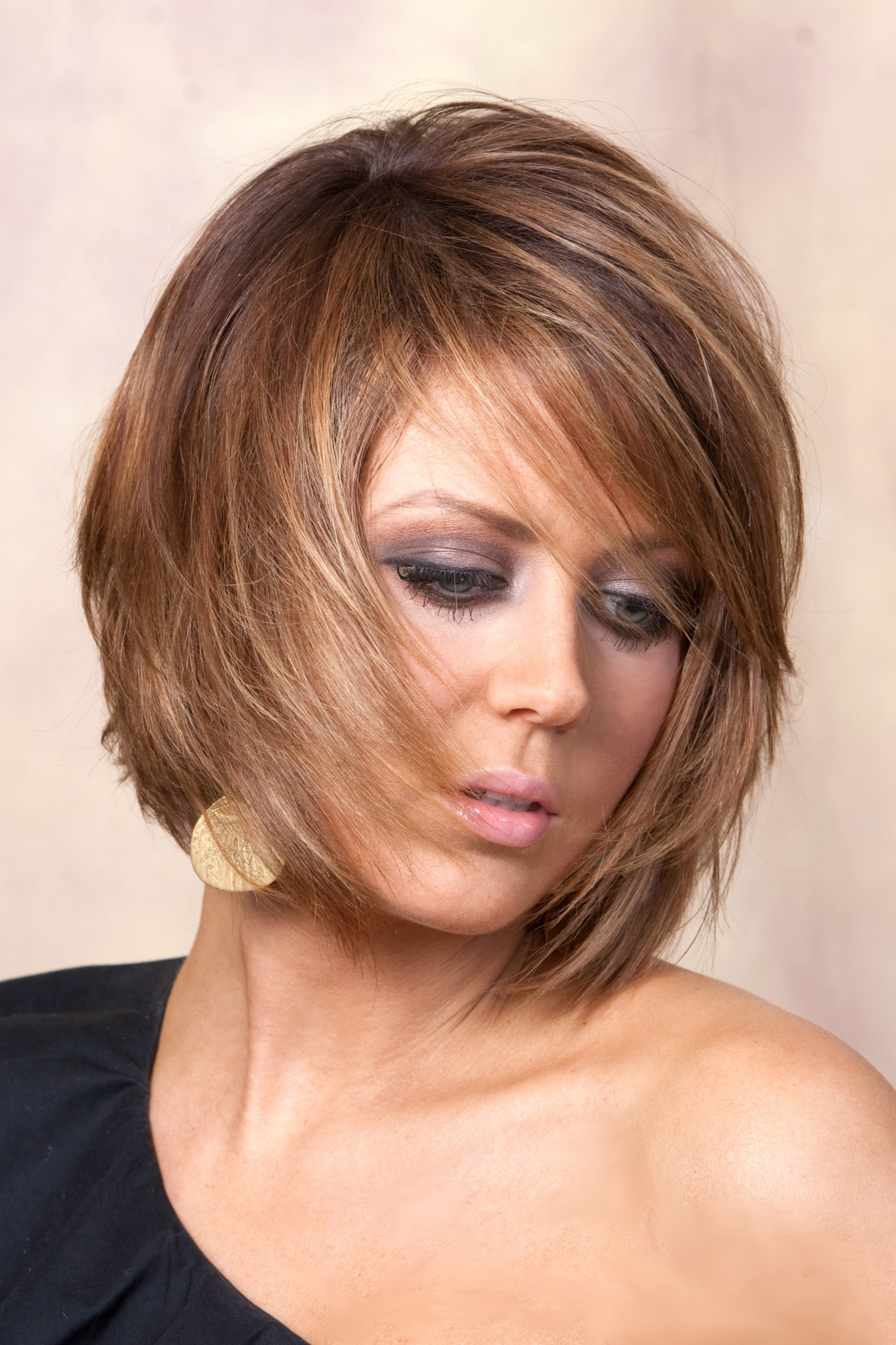 25+ Layered Bob Haircut Ideas, Designs | Hairstyles | Design Trends For Short To Medium Feminine Layered Haircuts (View 3 of 20)