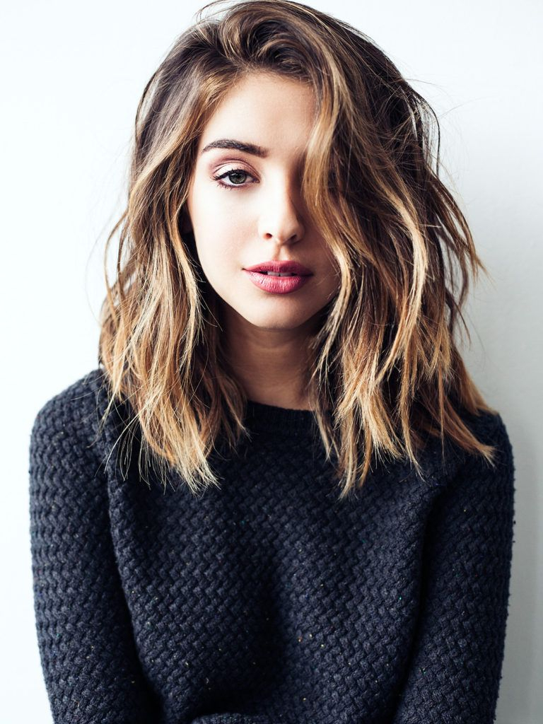 25 Super Cute Medium Haircuts | J | Pinterest | Hair, Hair Styles In Loosely Waved Messy Brunette Bob Hairstyles (View 2 of 20)