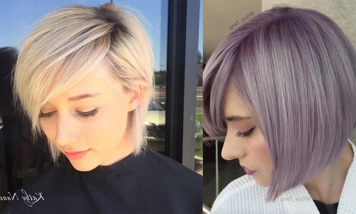 26 Incredible Short Bob Hairstyles & Haircuts With Bangs | Hairs (View 9 of 20)