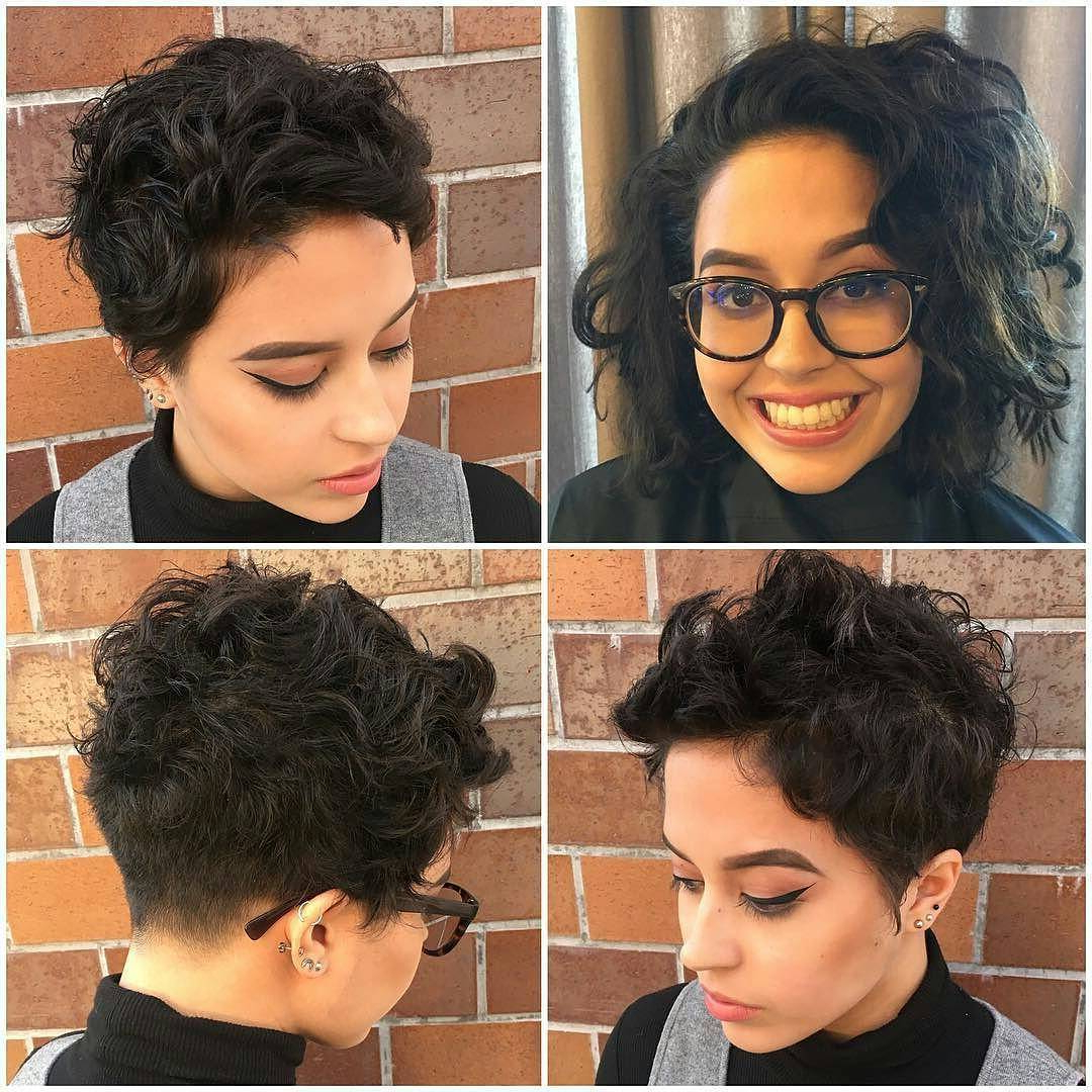 27 Hot Pixie Cuts To Copy In 2018 | Hairstyle Guru With Long Messy Curly Pixie Haircuts (View 9 of 20)