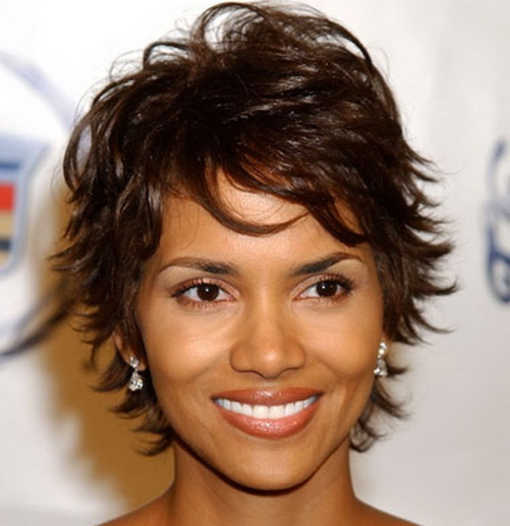 27 Short Hairstyles And Haircuts For Black Women Of Class For Curly Black Tapered Pixie Hairstyles (View 4 of 20)