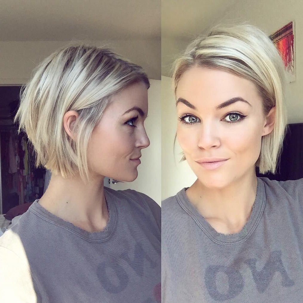 27 Stunning Short Hairstyles For Women | Styles Weekly With White Blonde Bob Haircuts For Fine Hair (View 7 of 20)