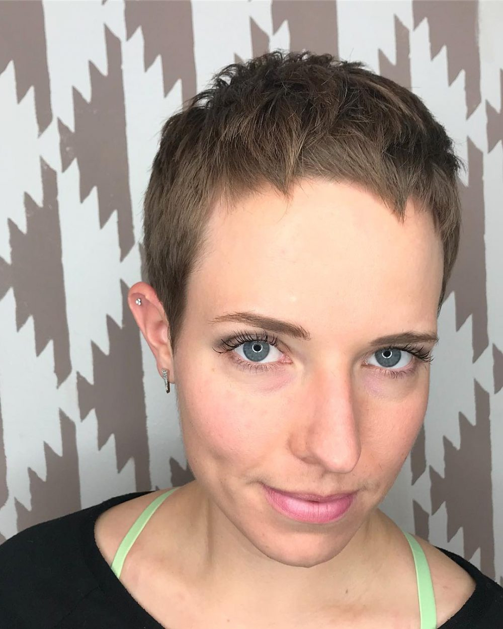 27 Very Short Haircuts You Have To See In 2018 With Disconnected Pixie Hairstyles For Short Hair (View 7 of 20)