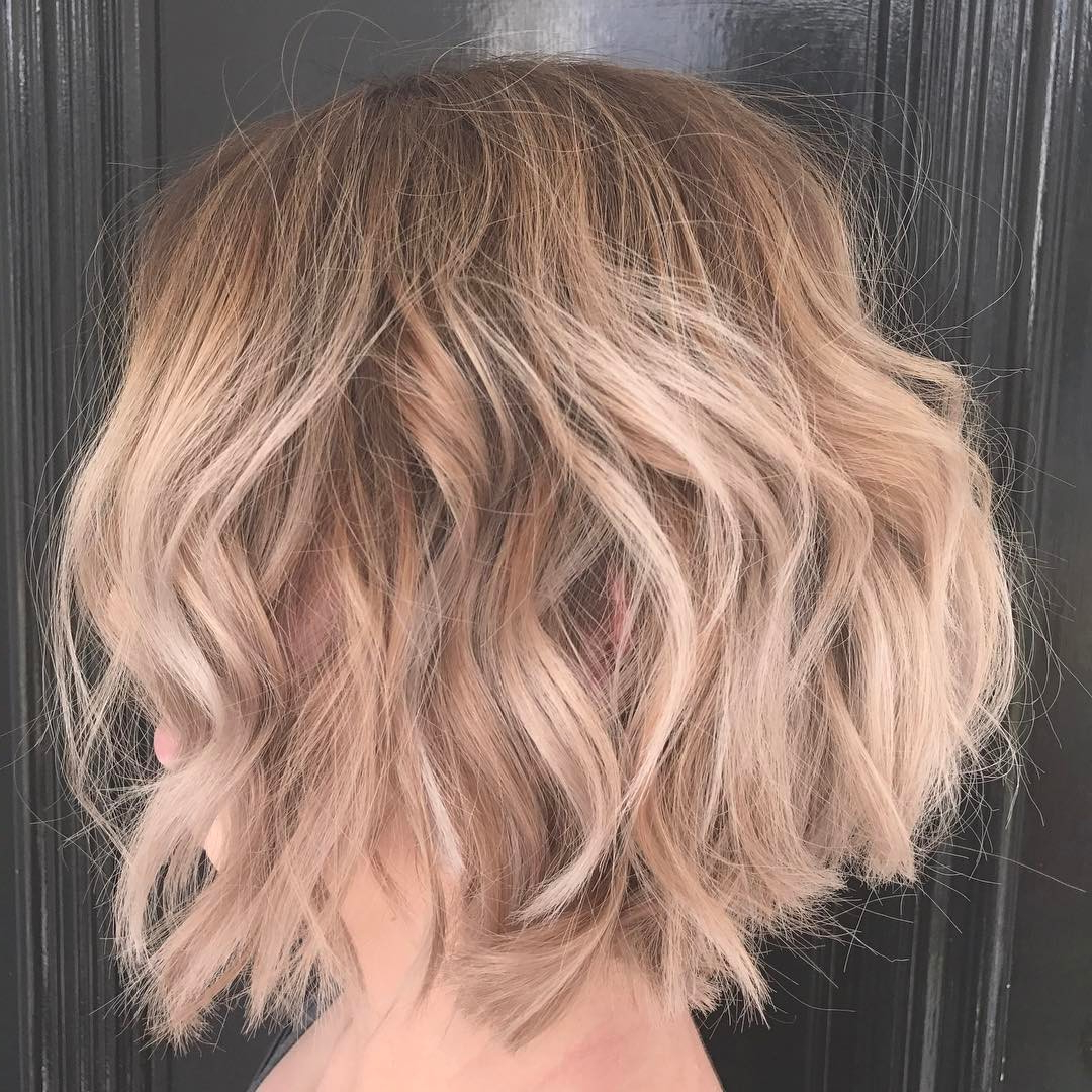 28 Best New Short Layered Bob Hairstyles – Page 2 Of 6 – Popular With Regard To Layered Balayage Bob Hairstyles (View 4 of 20)