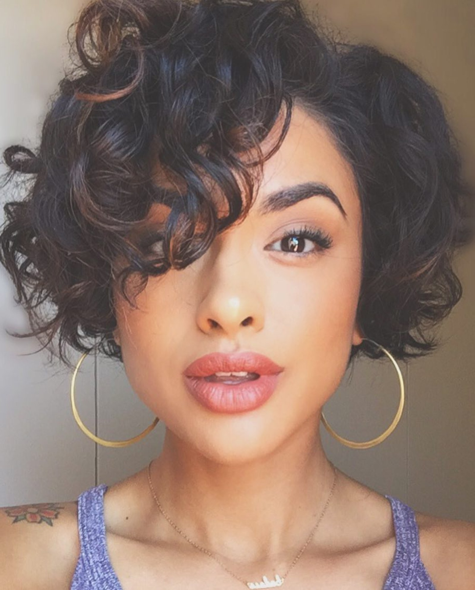 28 Curly Pixie Cuts That Are Perfect For Fall 2017 – Glamour Intended For Curly Black Tapered Pixie Hairstyles (View 6 of 20)