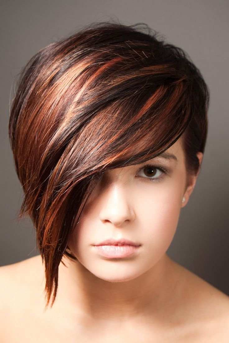 3 Edgy Ways Of Using Highlights For Reviving Your Short Hair In Short Crop Hairstyles With Colorful Highlights (View 6 of 20)