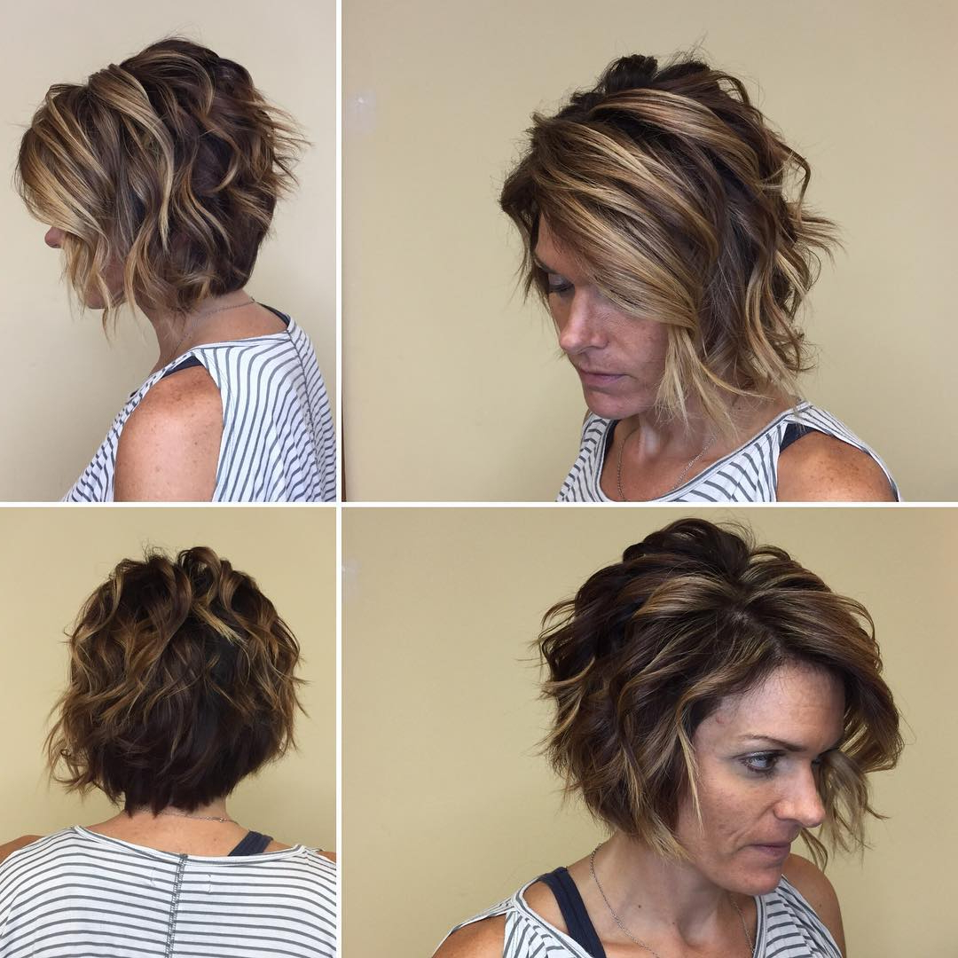 30 Asymmetrical Bob Hairstyles To Astonish Everyone Inside Short Messy Asymmetrical Bob Haircuts (View 7 of 20)