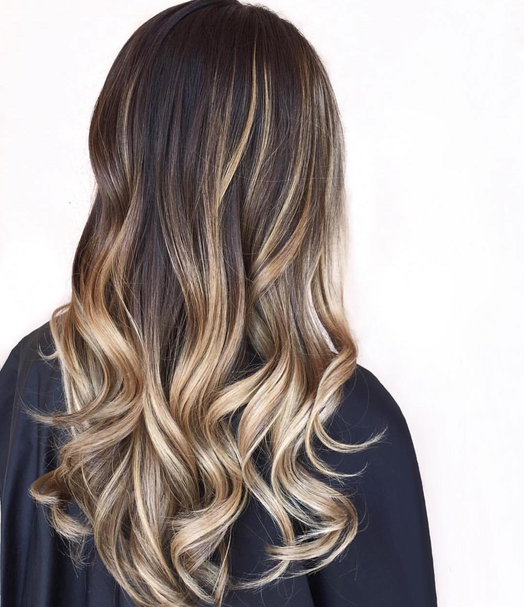 30 Brown Colored Hairstyles With Blonde Balayage 2018 | Hairstyle Guru With High Contrast Blonde Balayage Bob Hairstyles (View 7 of 20)