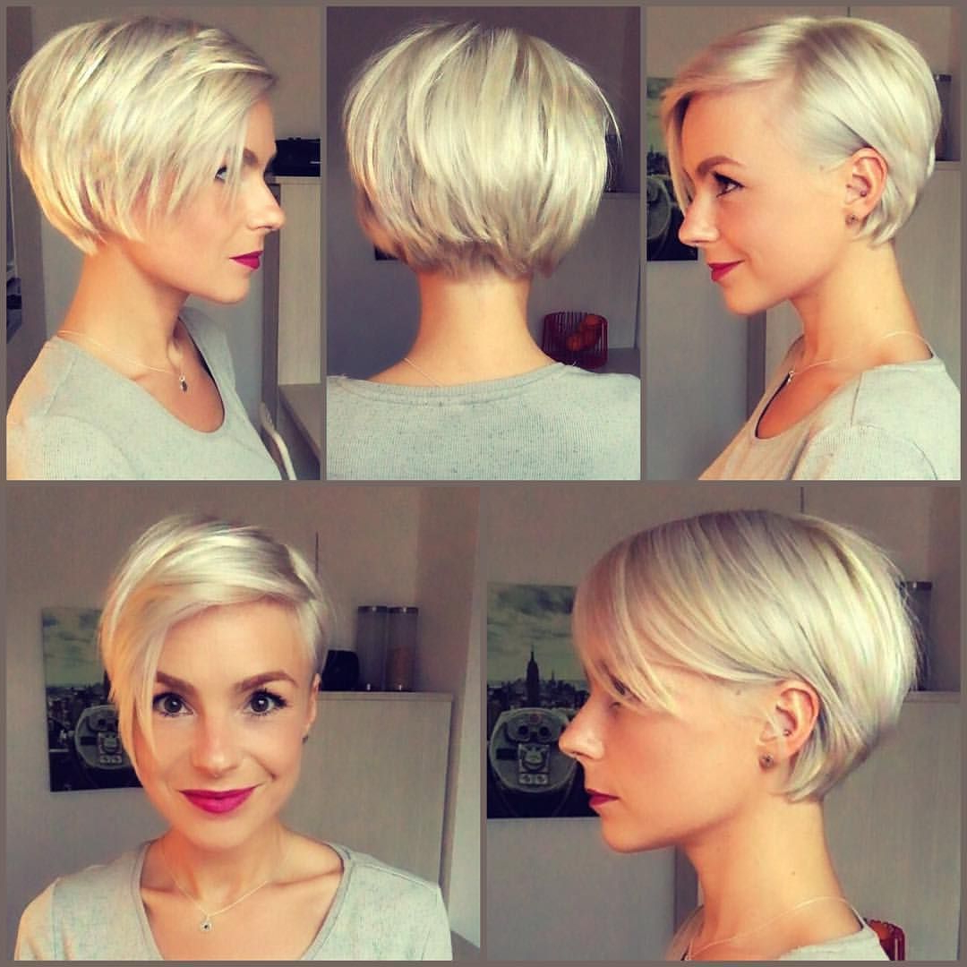 30 Chic Short Pixie Cuts For Fine Hair 2018 | Styles Weekly Pertaining To Messy Asymmetrical Pixie Bob Haircuts (View 3 of 20)