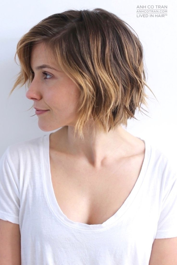 30 Pretty Short Haircuts For Every Woman | Styles Weekly Pertaining To Sleek Metallic White Pixie Bob Haircuts (View 8 of 20)