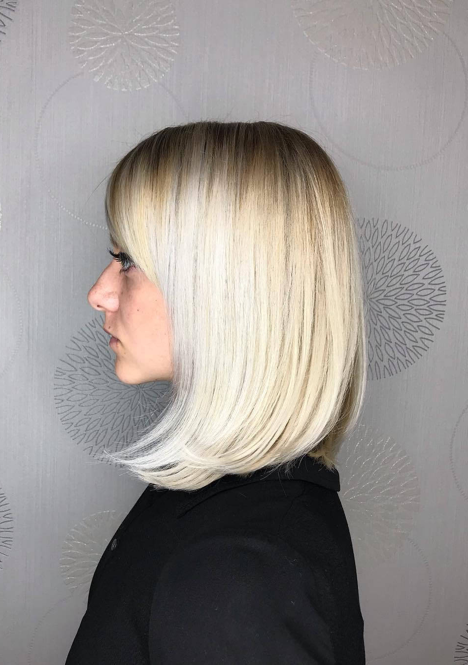 30 Trending Fresh Blonde Bob Hairstyles For Butter Blonde A Line Bob Hairstyles (View 2 of 20)