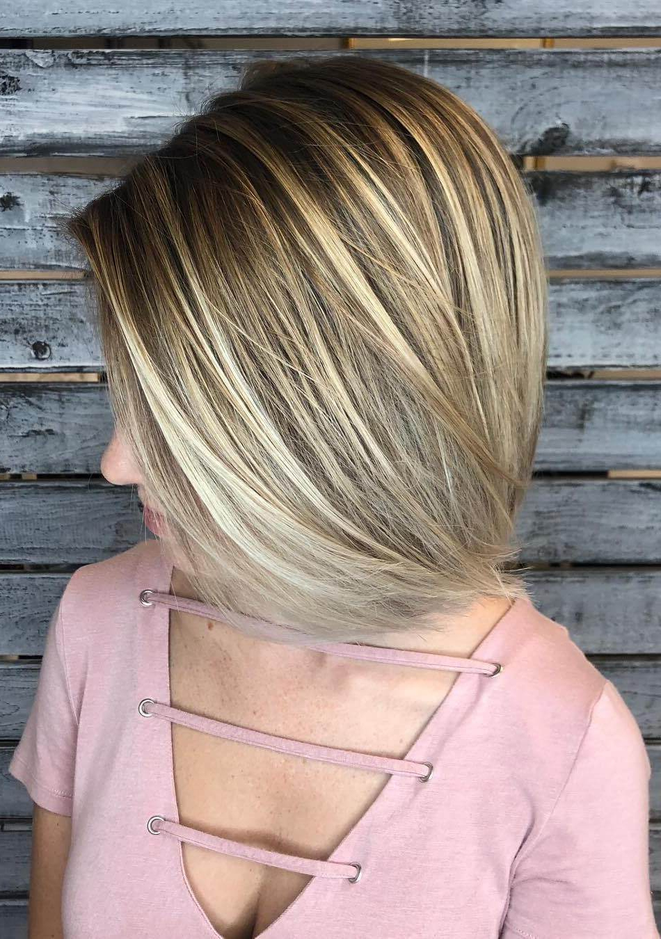 30 Trending Fresh Blonde Bob Hairstyles For Stacked Sleek White Blonde Bob Haircuts (View 17 of 20)