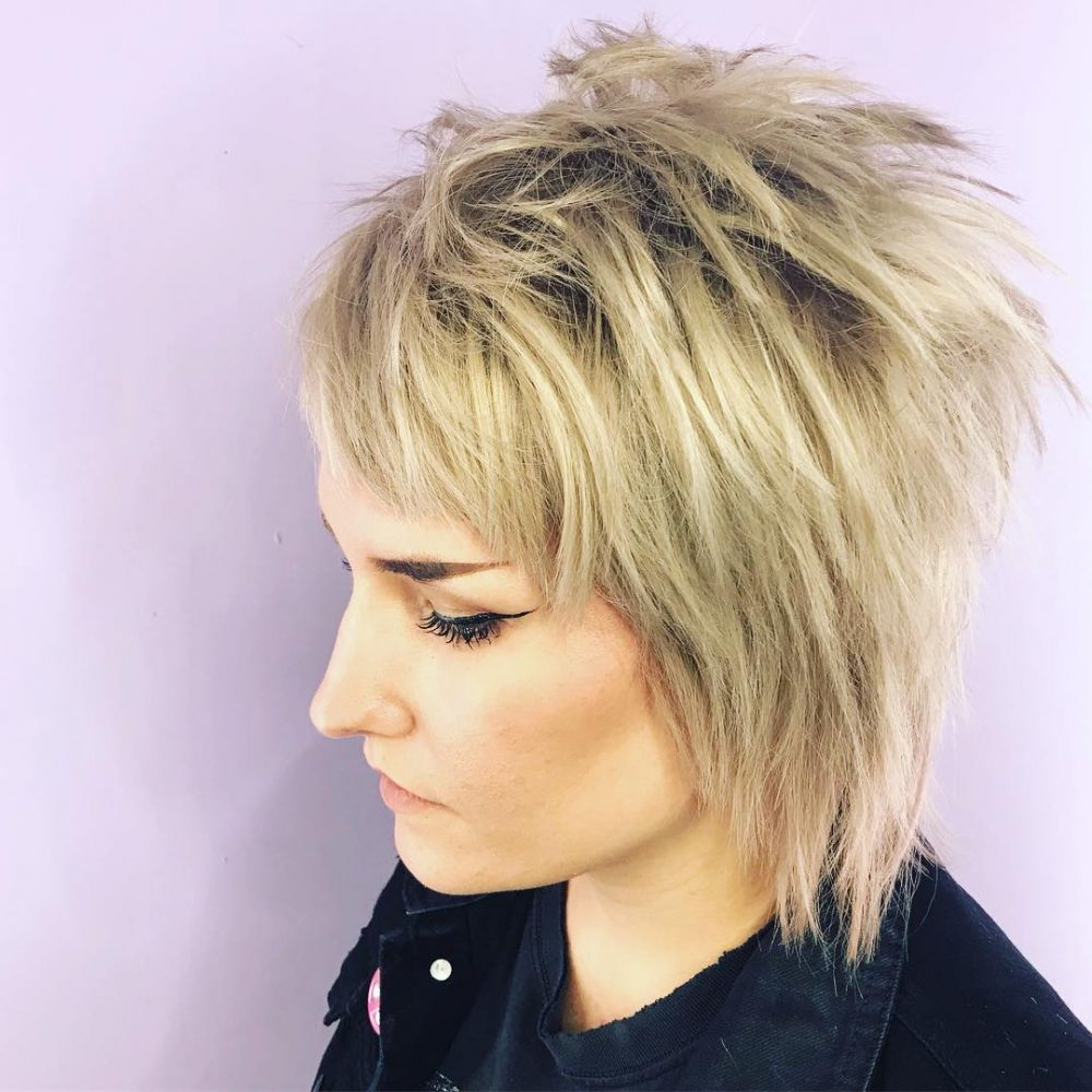 31 Punk Hairstyles Like You've Never Seen Before Throughout Sexy Pixie Hairstyles With Rocker Texture (View 4 of 20)