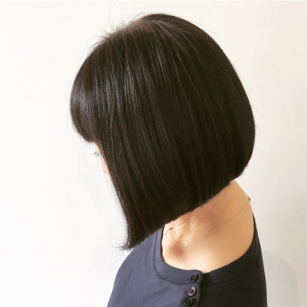 33 Hottest A Line Bob Haircuts You'll Want To Try In 2018 Inside A Line Amber Bob Haircuts (View 5 of 20)