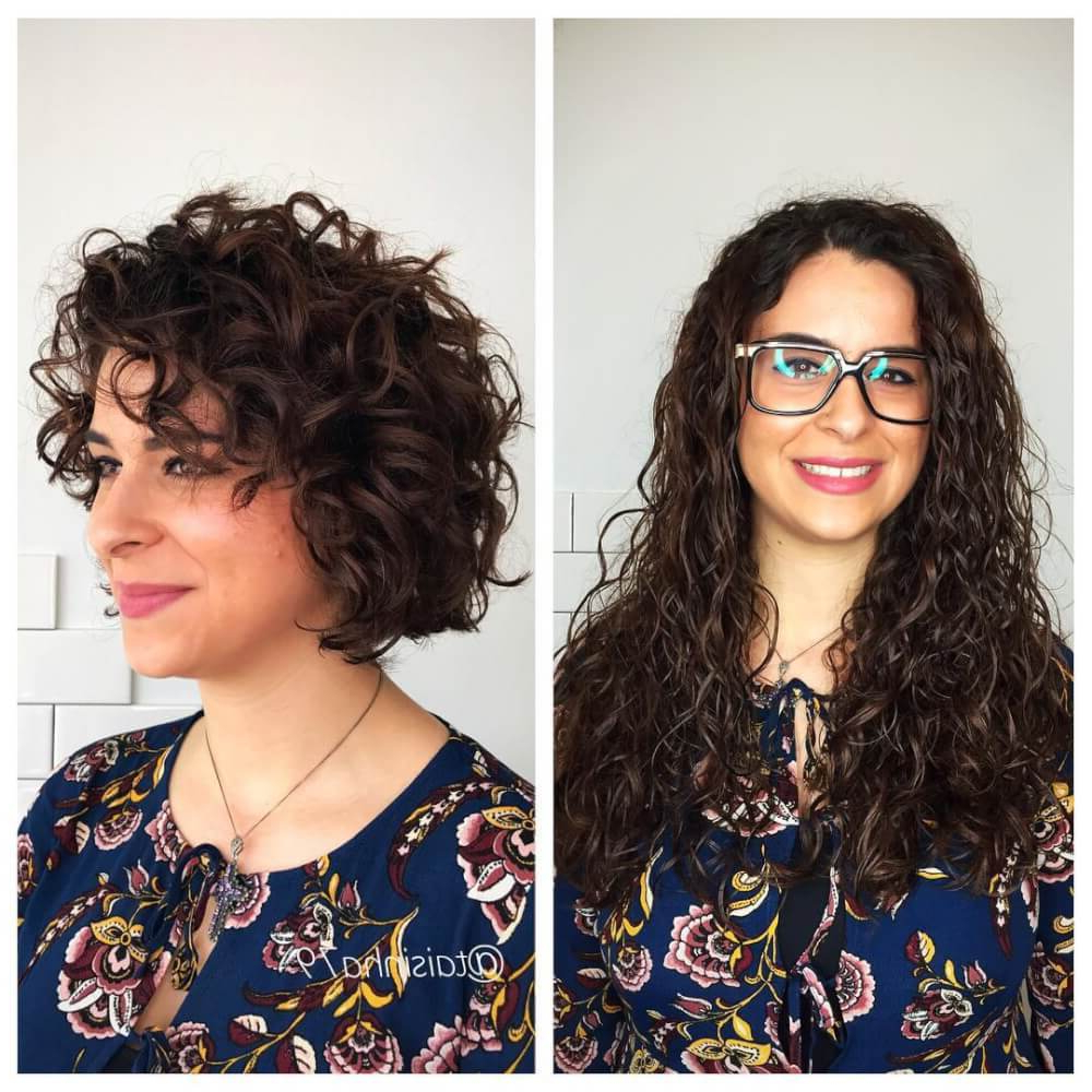 33 Hottest Short Curly Hairstyles Trending In 2018 Pertaining To Short Bob For Curly Hairstyles (View 10 of 20)