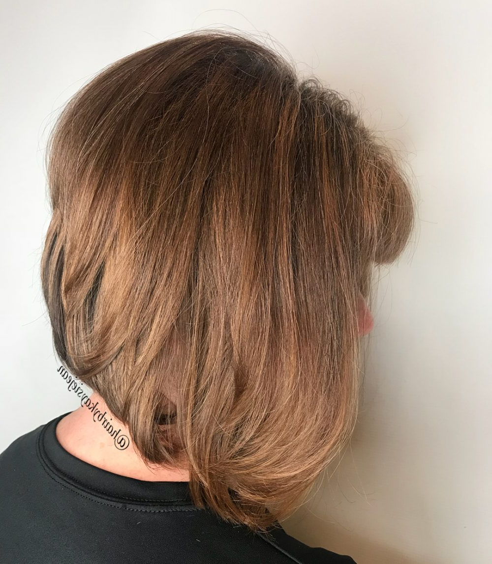 34 Greatest Short Haircuts And Hairstyles For Thick Hair For 2018 In Layered Tapered Pixie Hairstyles For Thick Hair (View 15 of 20)