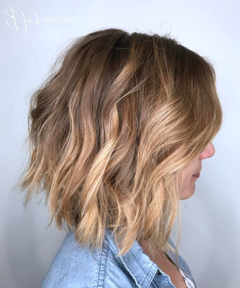 34 Light Brown Hair Colors That Are Blowing Up In 2018 Pertaining To Golden Brown Thick Curly Bob Hairstyles (View 6 of 20)