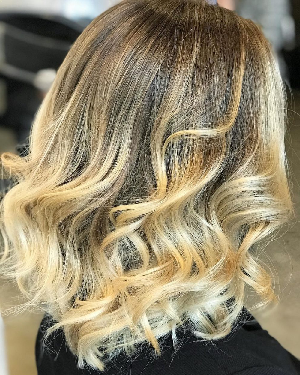 36 Curled Hairstyles Tending In 2018 – So Grab Your Hair Curling Wand! With Short Bob Hairstyles With Whipped Curls And Babylights (View 5 of 20)