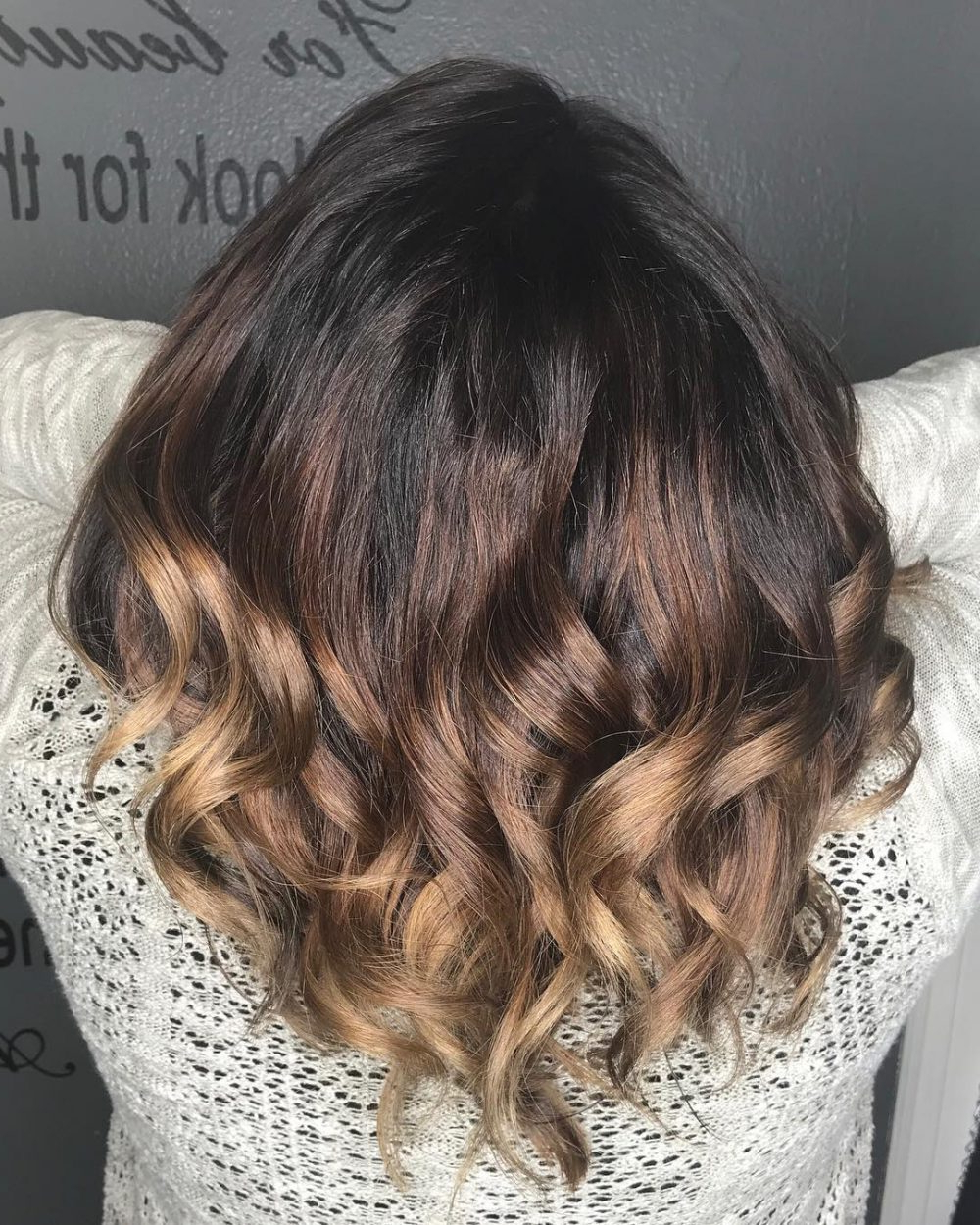 36 Top Short Ombre Hair Ideas Of 2018 With Regard To Long Feathered Espresso Brown Pixie Hairstyles (View 4 of 20)