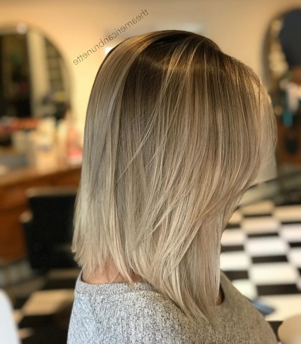 36 Top Short Ombre Hair Ideas Of 2018 Within Long Blonde Pixie Haircuts With Root Fade (View 4 of 20)