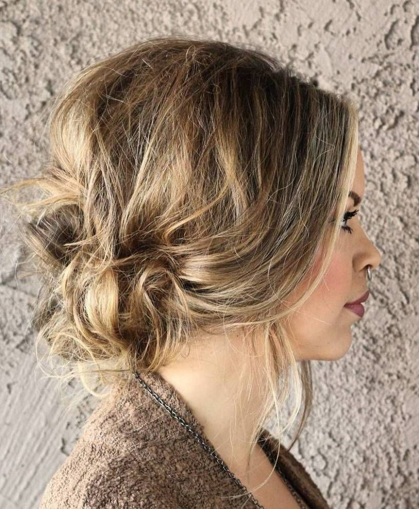 38 Perfectly Imperfect Messy Hairstyles For All Lengths (View 3 of 20)
