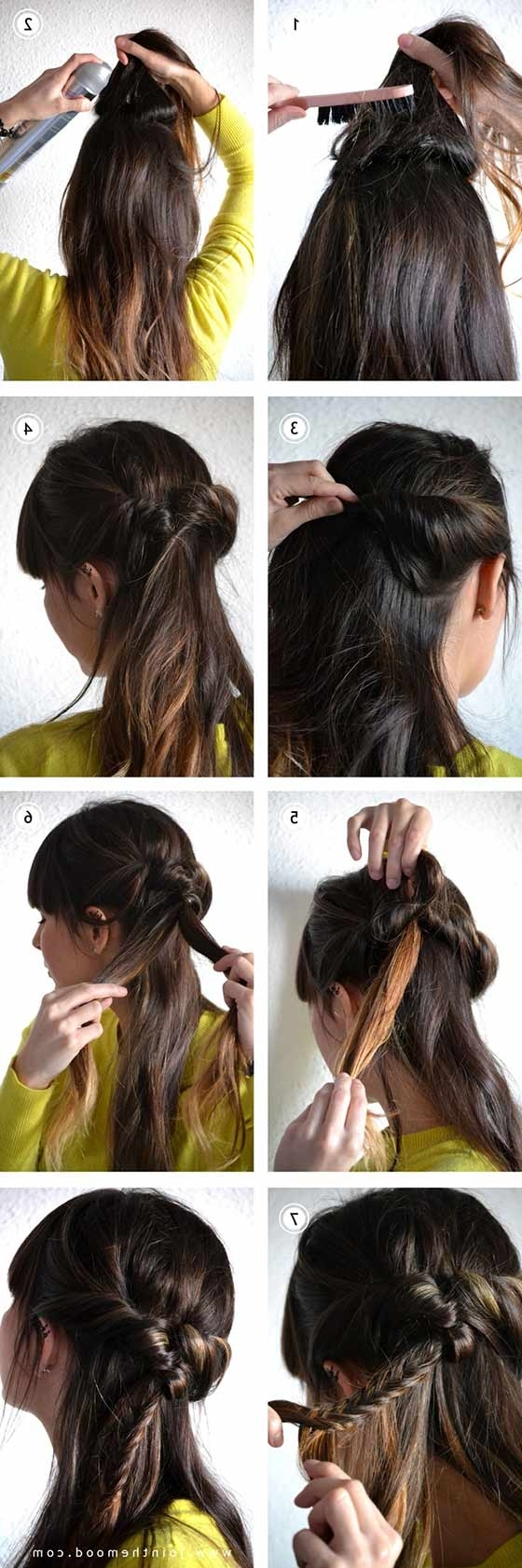 40 Braided Hairstyles For Long Hair Regarding Famous Loosely Braided Ponytail Hairstyles (View 12 of 20)
