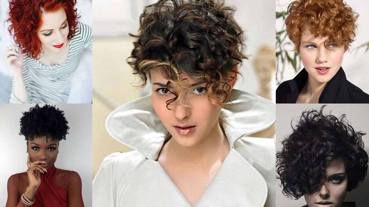 40 Curly Hairstyles For Short Hair – Wavy Bob Haircuts 2018 – Youtube Regarding Short Bob For Curly Hairstyles (View 1 of 20)