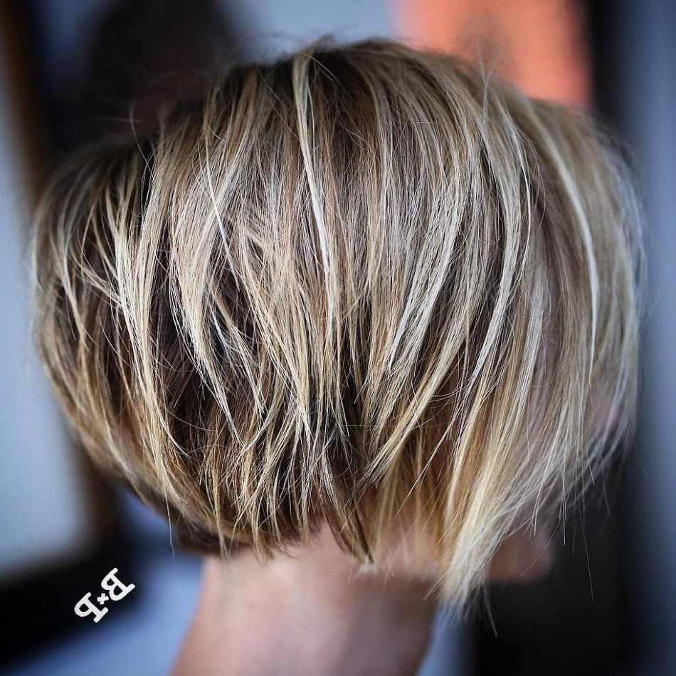 40 Short Haircuts For Girls With Added Oomph | Cute Hair In Undercut Bob Hairstyles With Jagged Ends (Gallery 4 of 20)