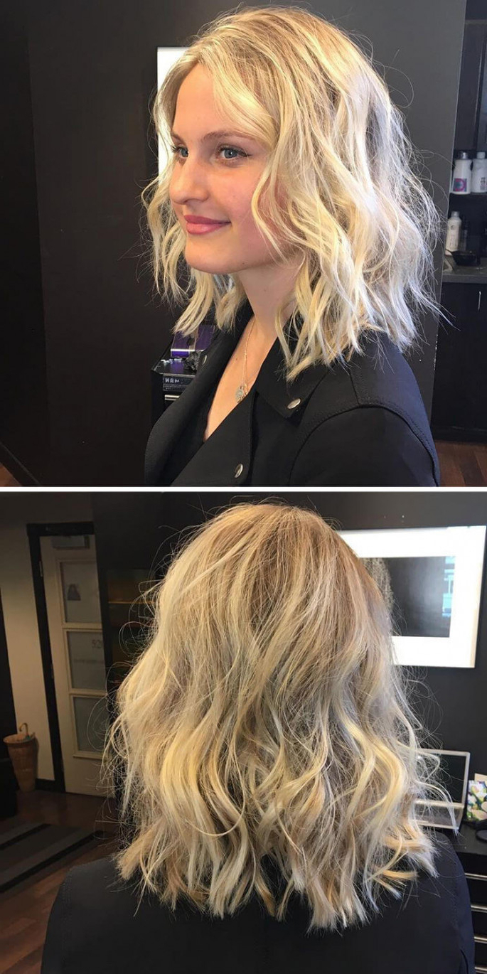 41 Modern Chic Layered Hairstyles For Short, Medium And Long Hair With Short And Long Layer Hairstyles (View 7 of 20)