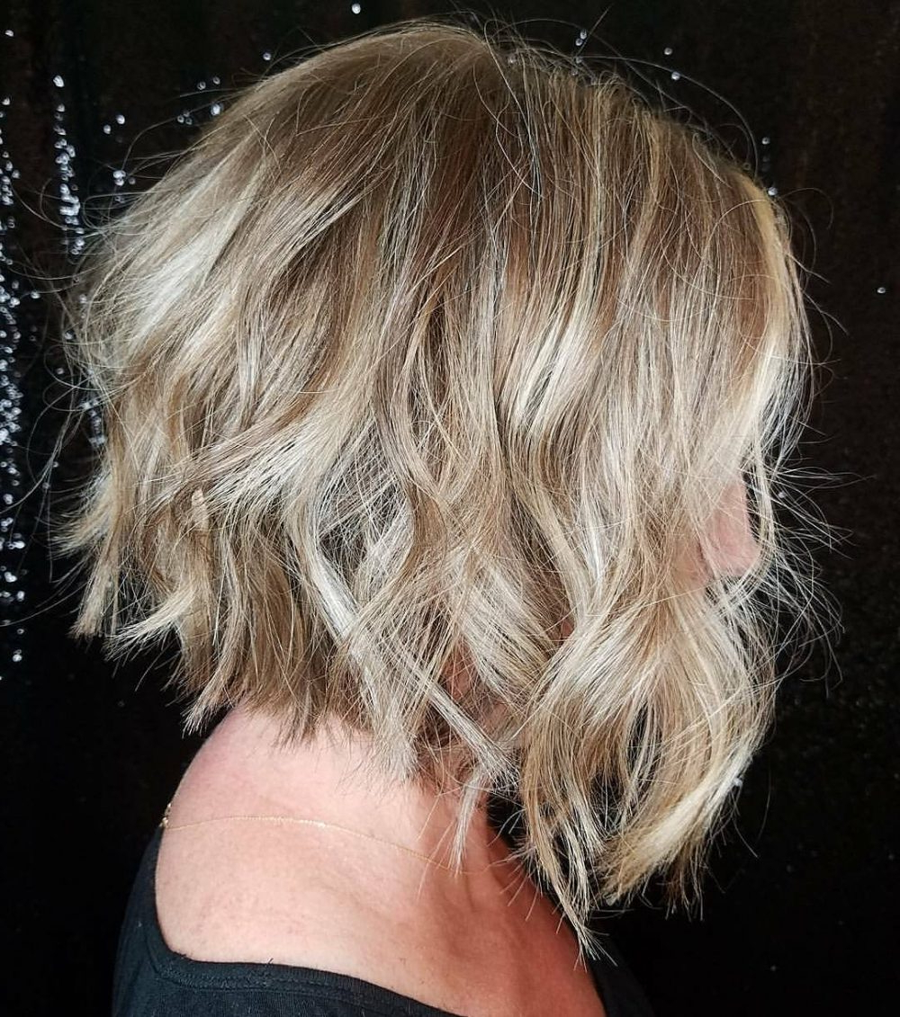 45 Chic Choppy Bob Hairstyles For 2018 Regarding Disheveled Brunette Choppy Bob Hairstyles (Gallery 16 of 20)