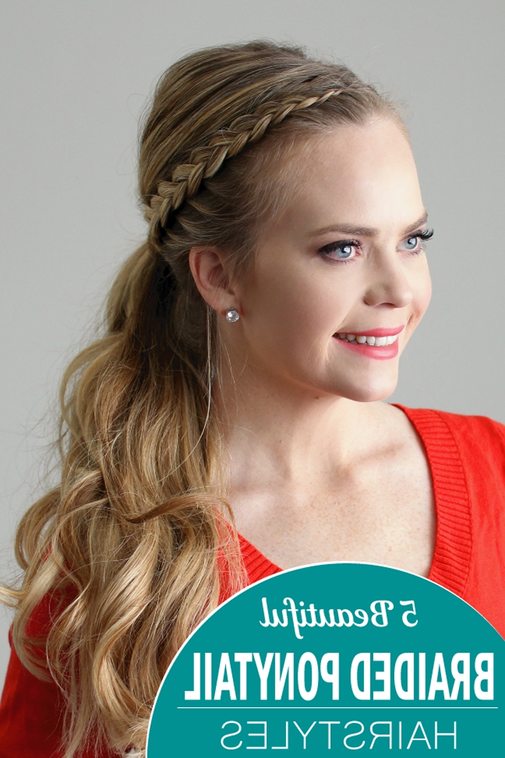 5 Beautiful Braided Ponytail Hairstyles (View 5 of 20)