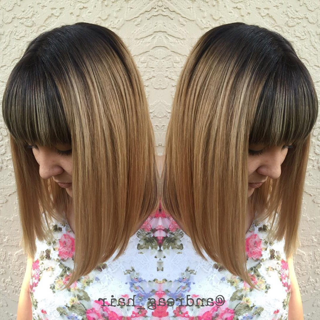 50 Amazing Blunt Bob Hairstyles You'd Love To Try – Bob Haircuts With Regard To Choppy Brown And Lavender Bob Hairstyles (View 15 of 20)