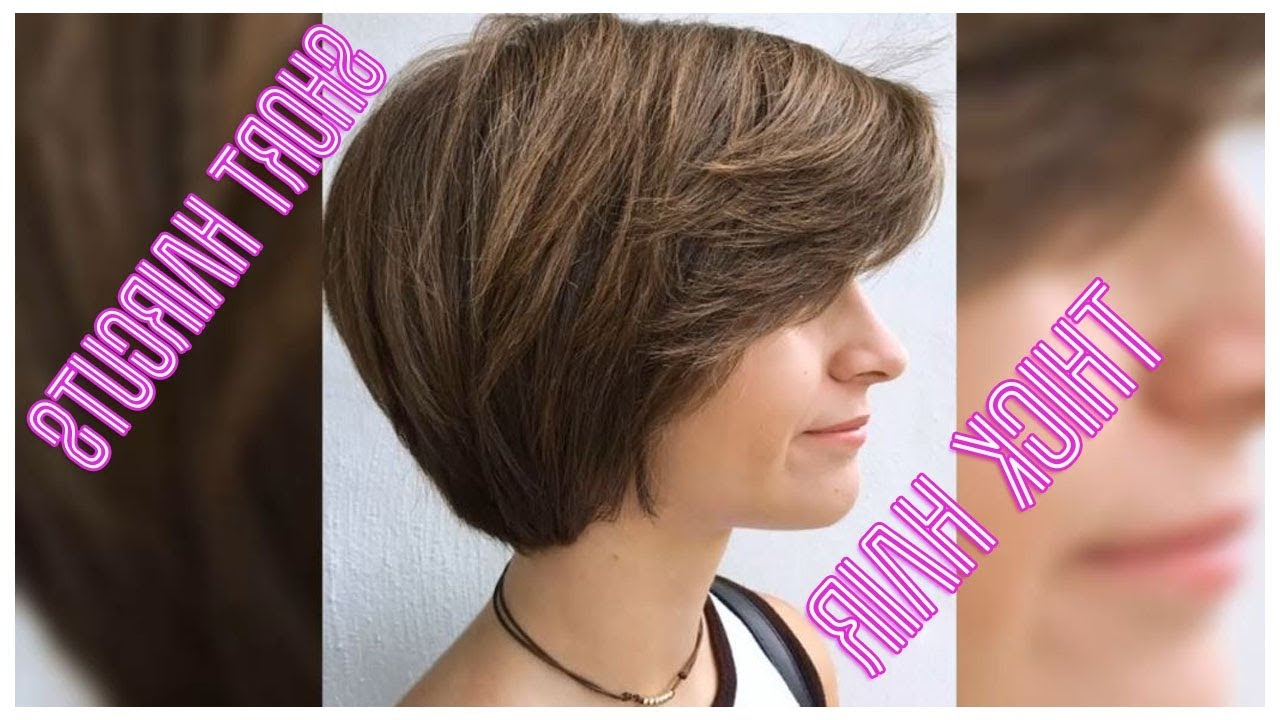 50+ Classy Short Haircuts And Hairstyles For Thick Hair – Youtube With Regard To Short And Classy Haircuts For Thick Hair (View 2 of 20)