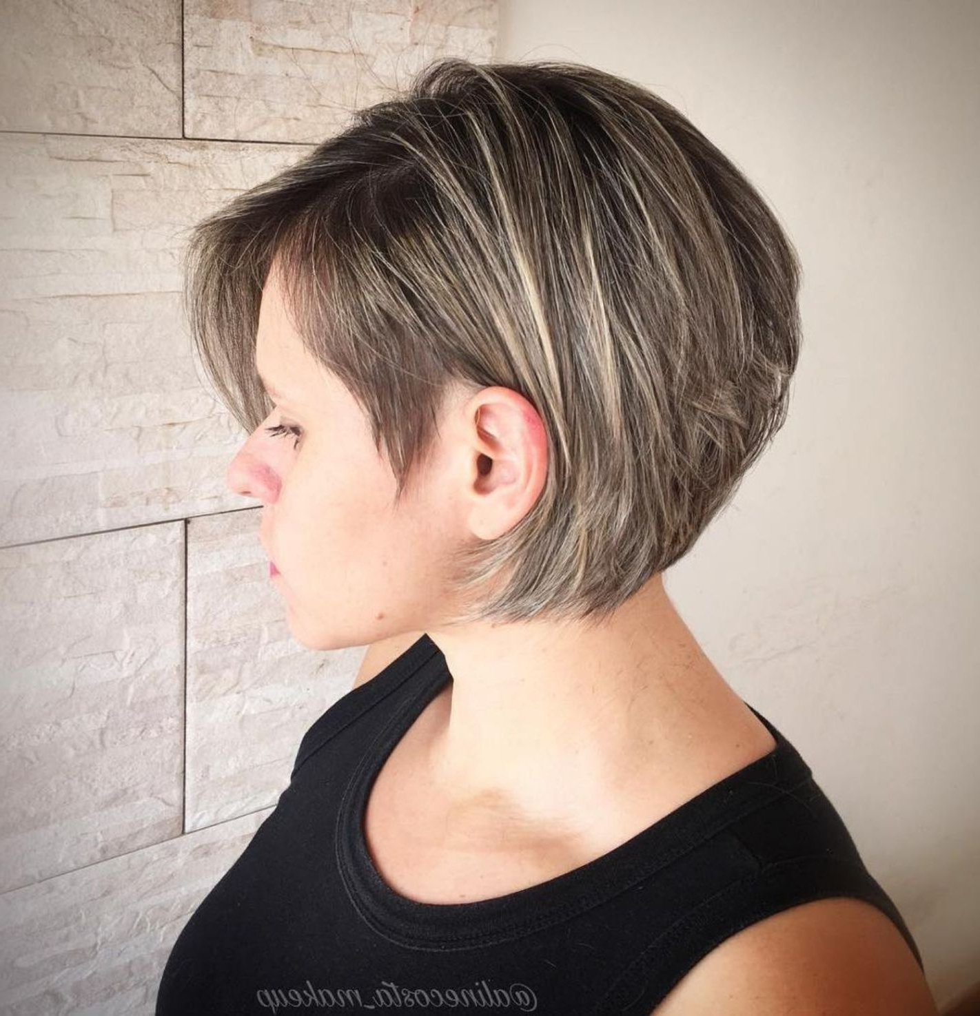 50 Trendy Inverted Bob Haircuts In 2018 | Hair Cuts | Pinterest In Sleek Rounded Inverted Bob Hairstyles (View 5 of 20)