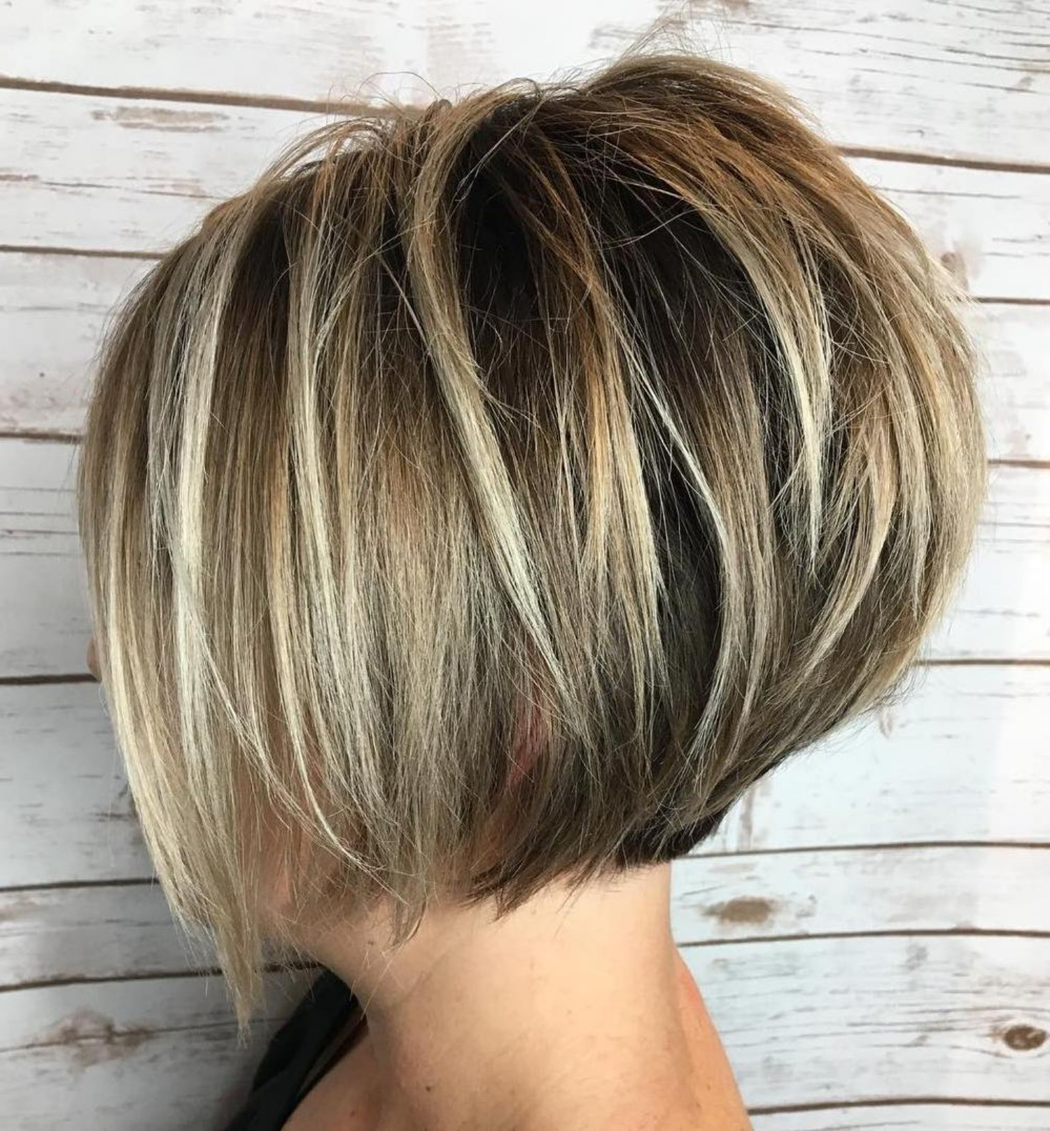 50 Trendy Inverted Bob Haircuts In 2018 | Hair | Pinterest | Hair For Voluminous Nape Length Inverted Bob Hairstyles (View 3 of 20)