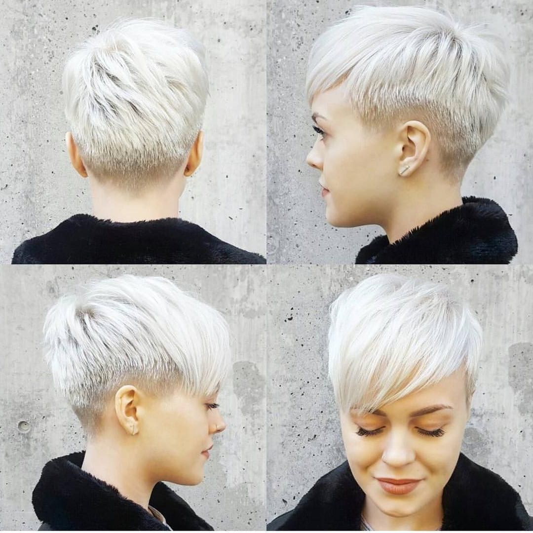 50S Roll Hairstyle | Pinterest | Undercut, Short Haircuts And Pixies Regarding Funky Pixie Undercut Hairstyles (View 10 of 20)
