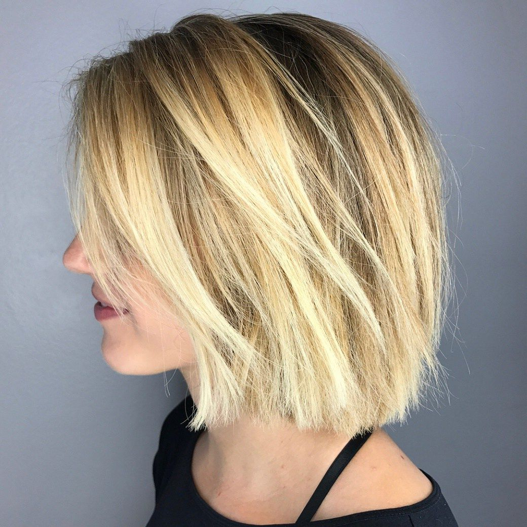 60 Beautiful And Convenient Medium Bob Hairstyles | Cindy's With Regard To Stunning Poker Straight Bob Hairstyles (View 8 of 20)