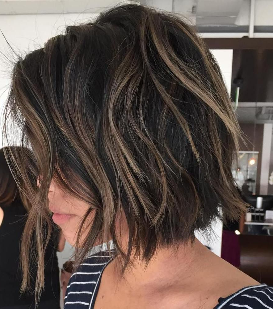 60 Beautiful And Convenient Medium Bob Hairstyles | Pinterest Intended For Balayage Bob Haircuts With Layers (View 6 of 20)