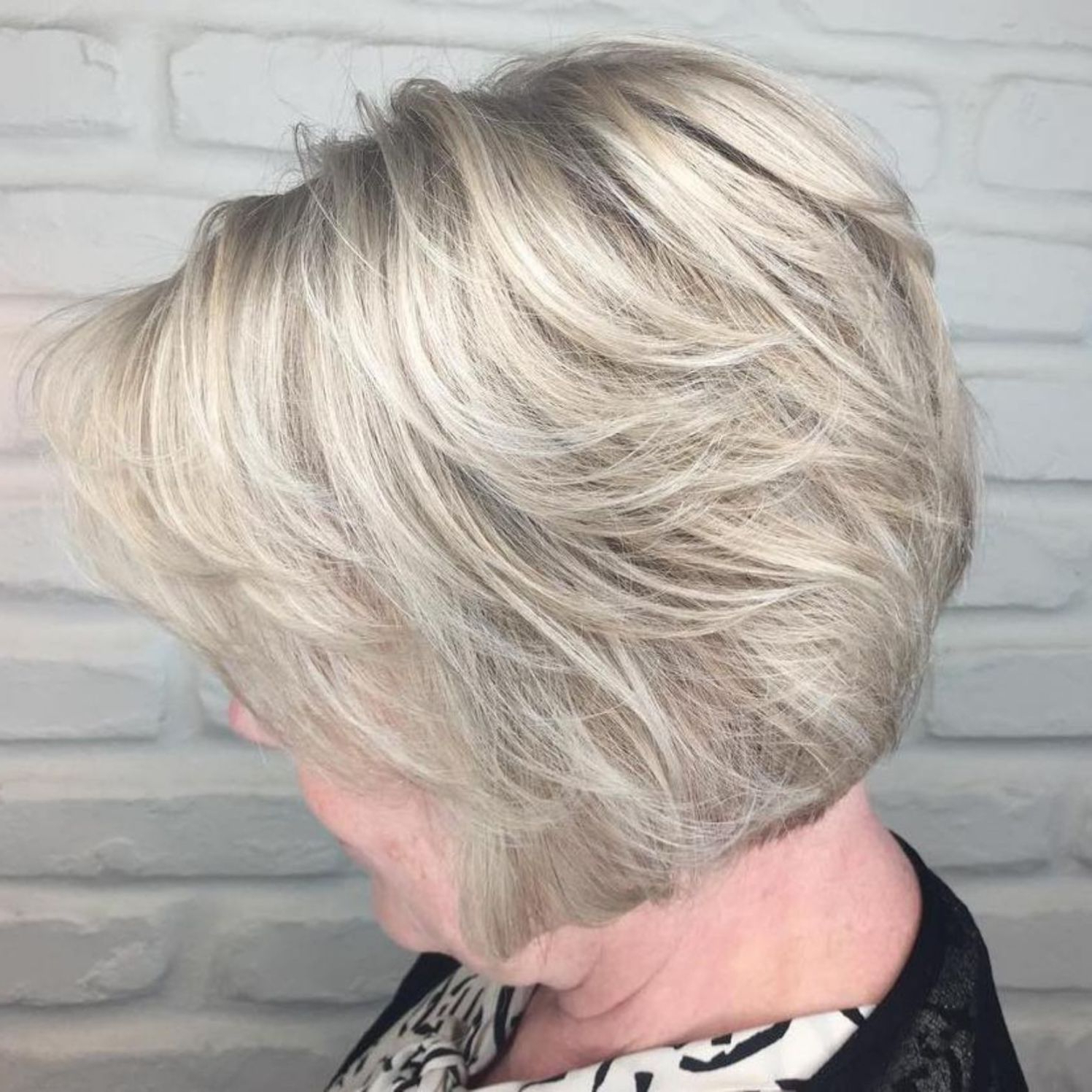 60 Best Hairstyles And Haircuts For Women Over 60 To Suit Any Taste Within Pixie Bob Hairstyles With Golden Blonde Feathers (View 10 of 20)