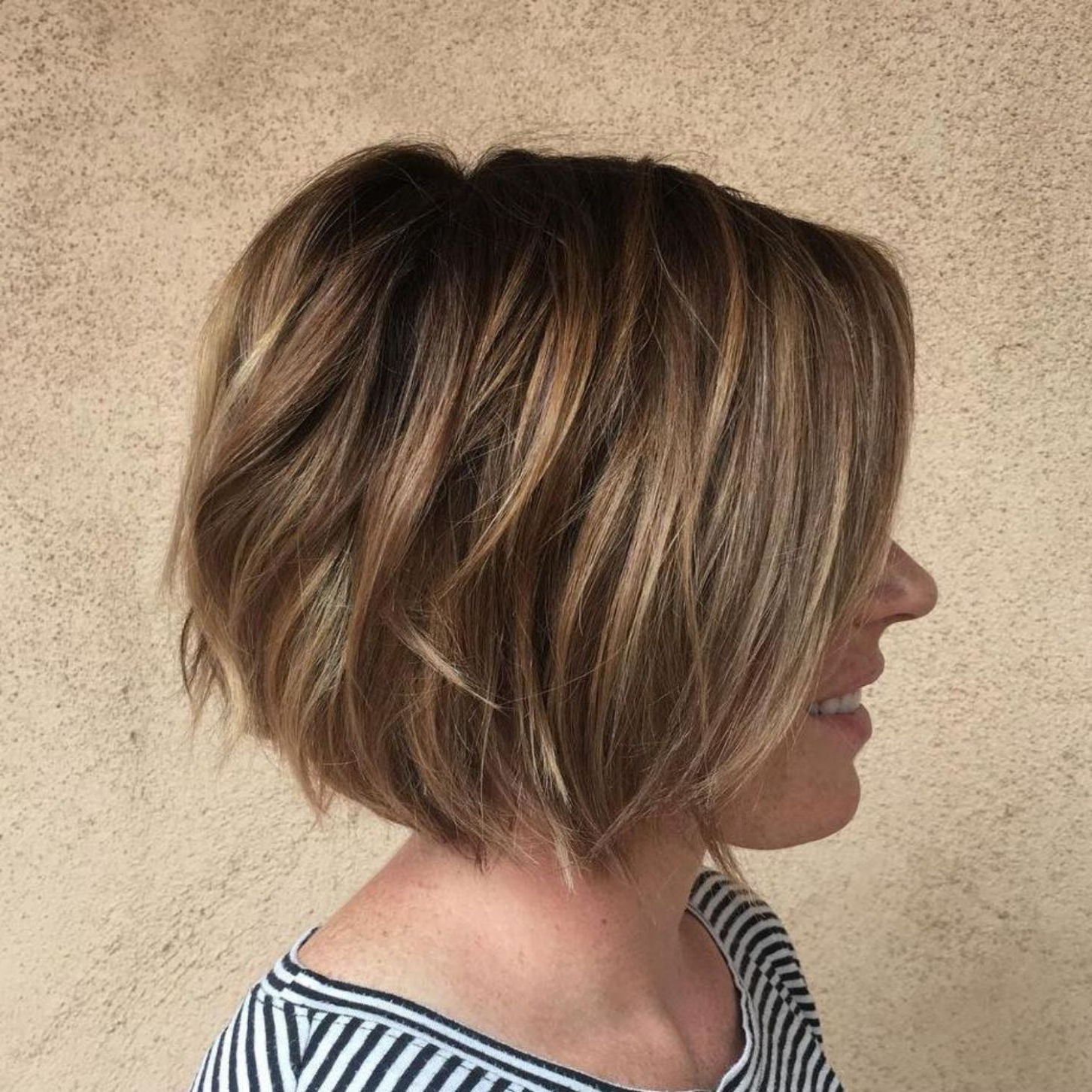 60 Best Short Bob Haircuts And Hairstyles For Women | Hair In Southern Belle Bob Haircuts With Gradual Layers (View 15 of 20)