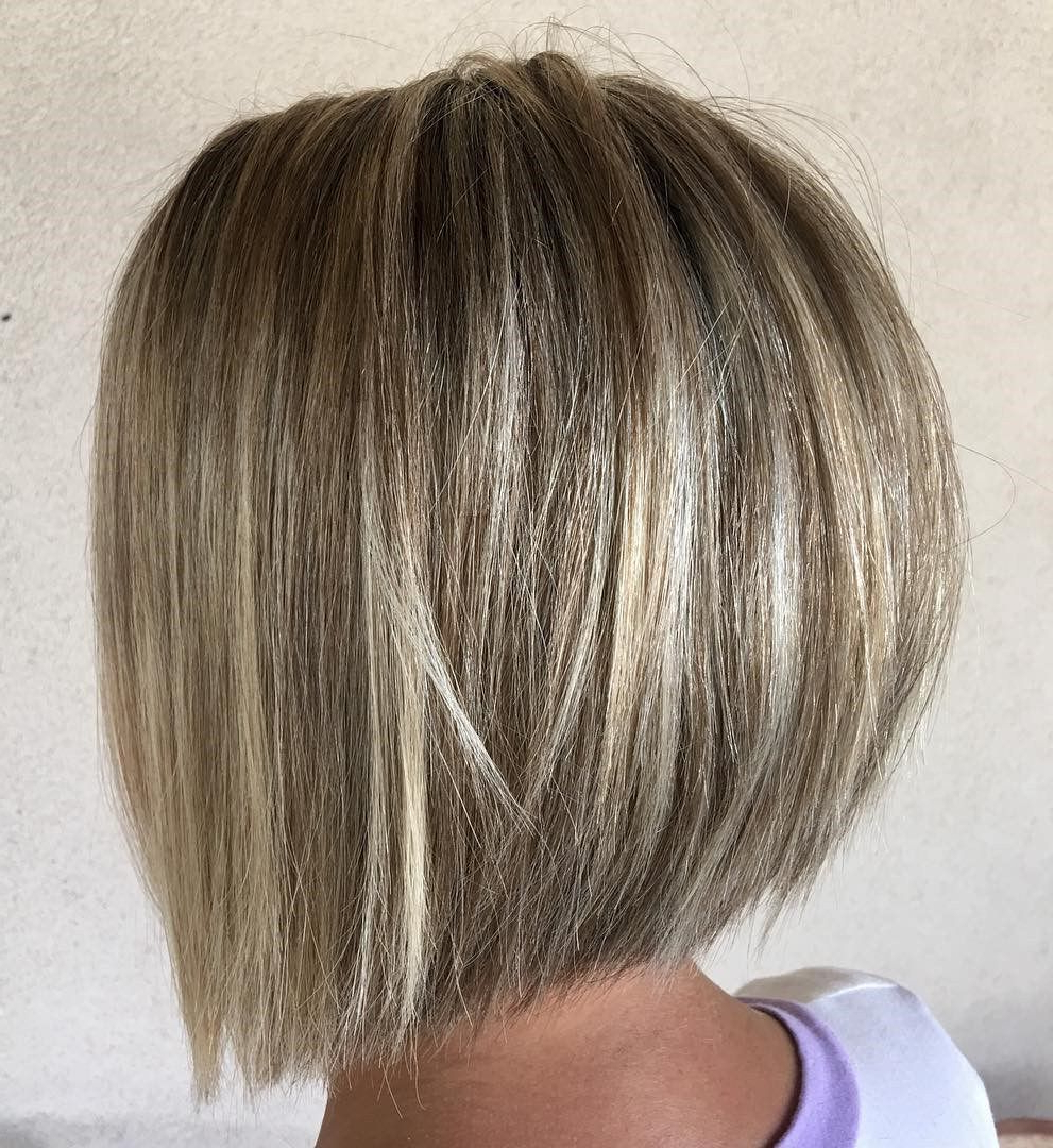 60 Best Short Bob Haircuts And Hairstyles For Women | Hair Inside Rounded Bob Hairstyles With Razored Layers (View 8 of 20)