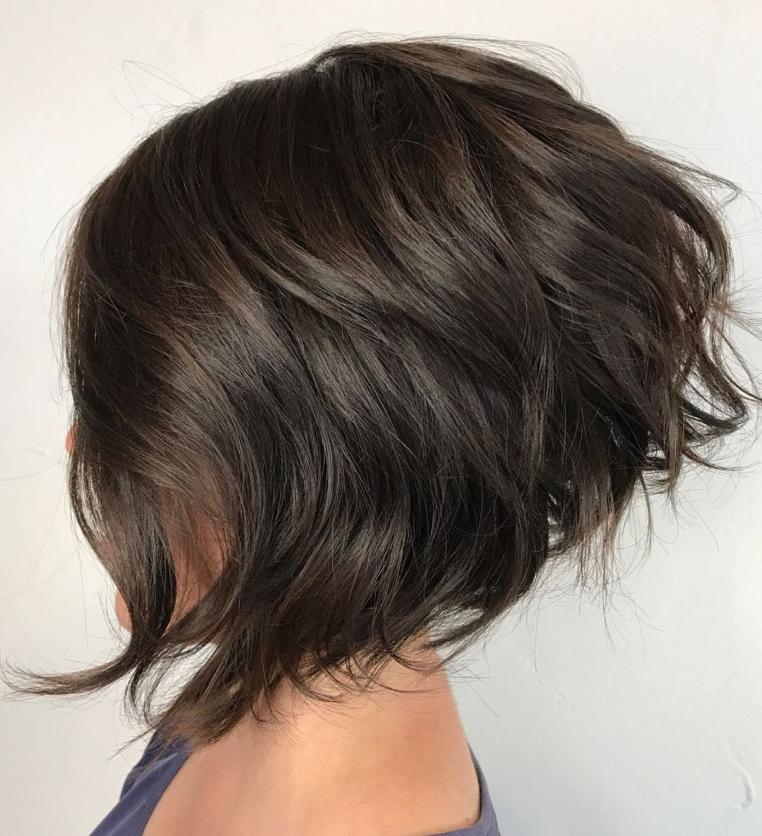 60 Best Short Bob Haircuts And Hairstyles For Women | Hair Throughout Angled Burgundy Bob Hairstyles With Voluminous Layers (View 10 of 20)