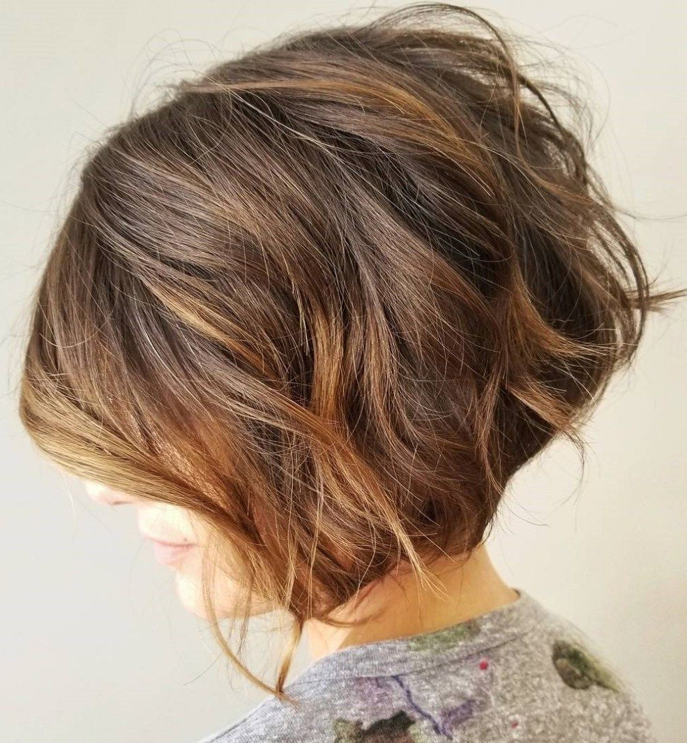 60 Best Short Bob Haircuts And Hairstyles For Women | Hairstyle With Jaw Length Curly Messy Bob Hairstyles (View 15 of 20)