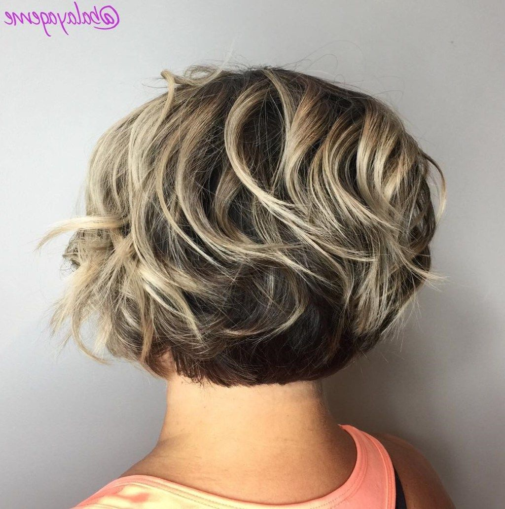 60 Best Short Bob Haircuts And Hairstyles For Women In 2018 | Hair For Hazel Blonde Razored Bob Hairstyles (View 9 of 20)