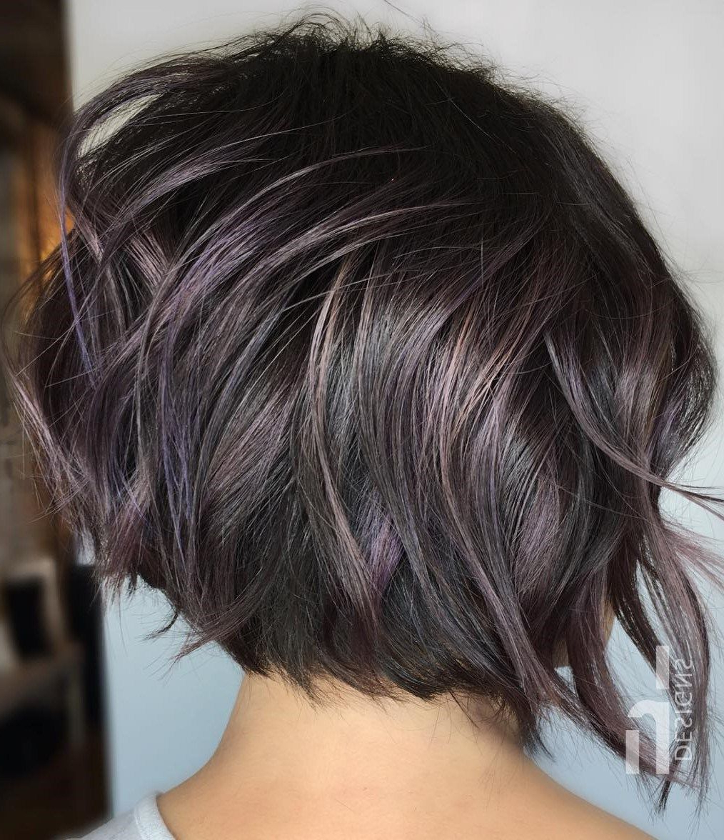 60 Best Short Bob Haircuts And Hairstyles For Women | Vpsc With Regard To Disheveled Brunette Choppy Bob Hairstyles (View 13 of 20)