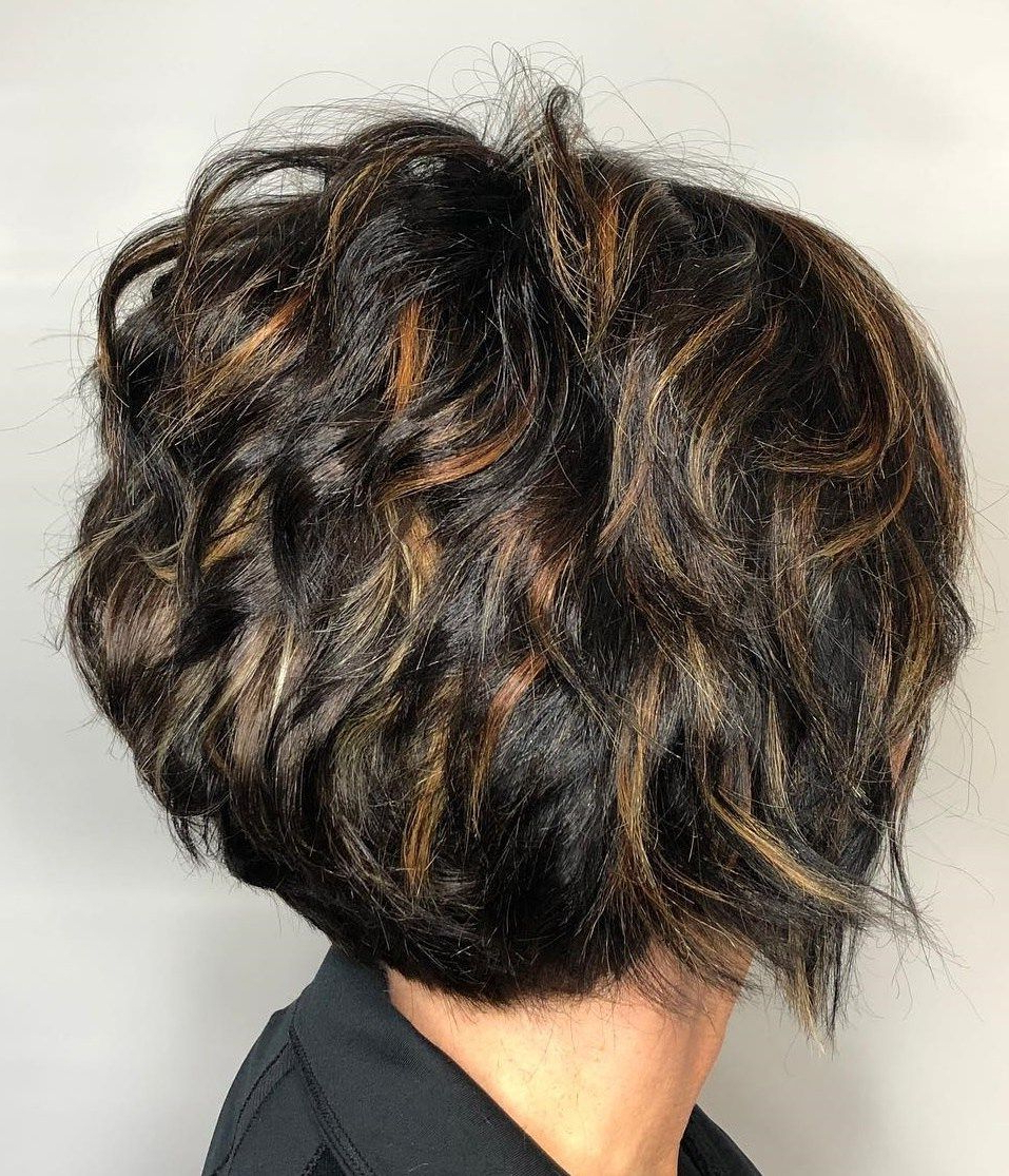60 Classy Short Haircuts And Hairstyles For Thick Hair | Hair That For Short Bob Hairstyles With Piece Y Layers And Babylights (View 8 of 20)
