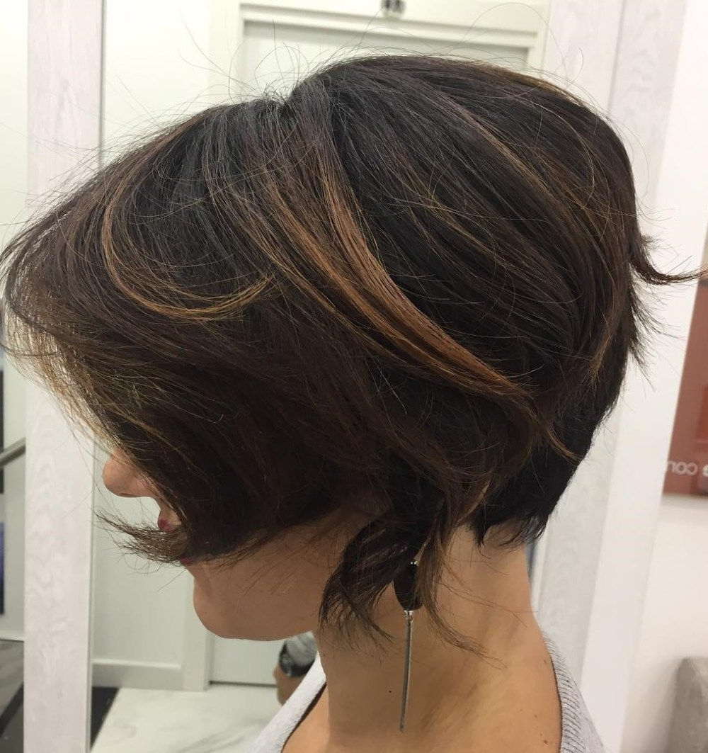 60 Classy Short Haircuts And Hairstyles For Thick Hair | Hairstyle Within Layered Tapered Pixie Hairstyles For Thick Hair (View 11 of 20)