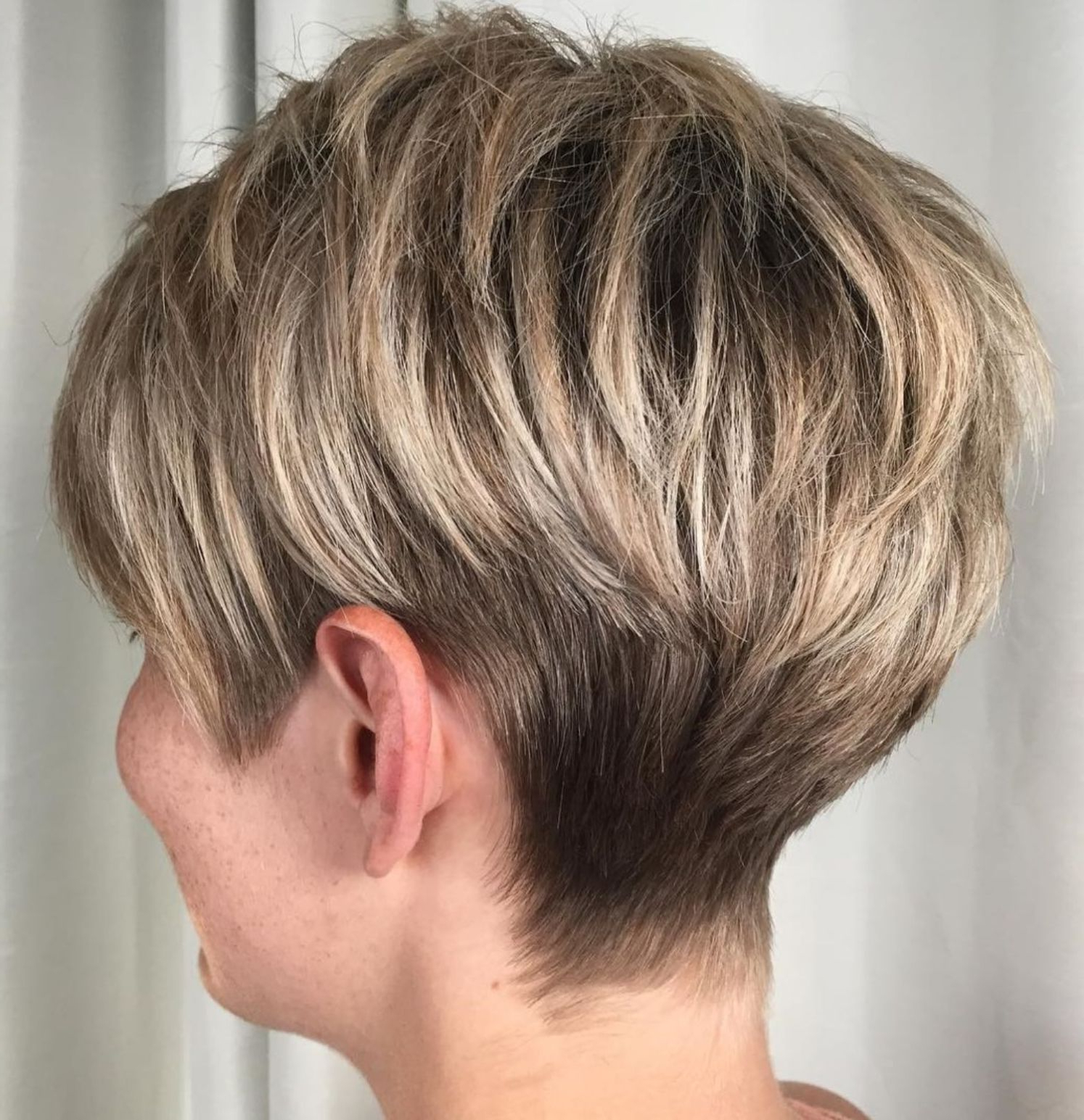 60 Classy Short Haircuts And Hairstyles For Thick Hair | Health N Regarding Layered Tapered Pixie Hairstyles For Thick Hair (View 12 of 20)