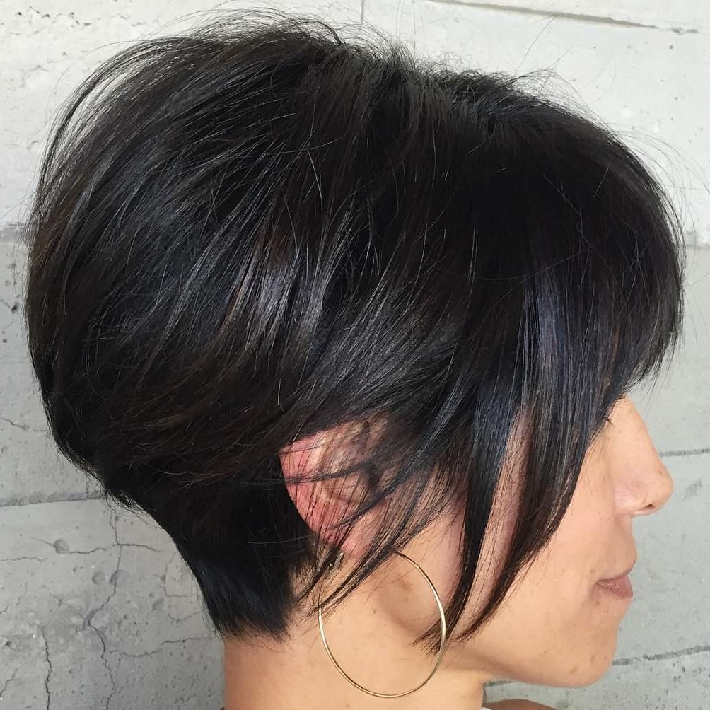 60 Classy Short Haircuts And Hairstyles For Thick Hair In 2018 Throughout Bob Hairstyles For Thick Hair (View 11 of 20)